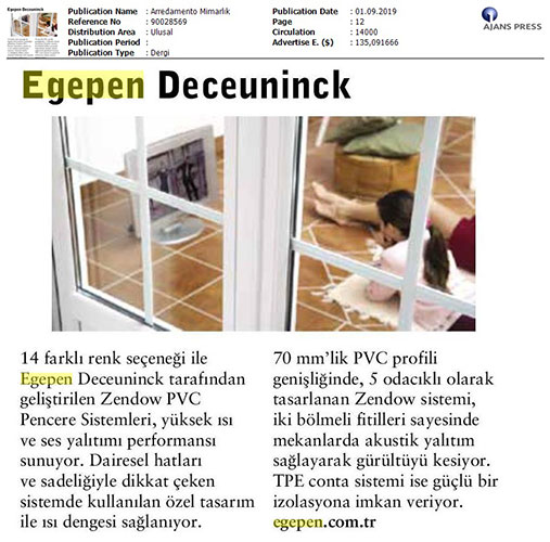 Arredamento Mimarlik - September 2019