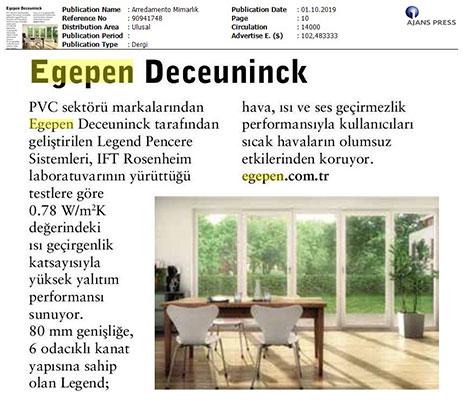 Arredamento Mimarlık - October 2019