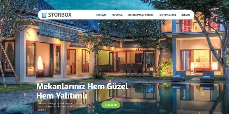 Storbox Panjur Web Sitemizi Tamamladık